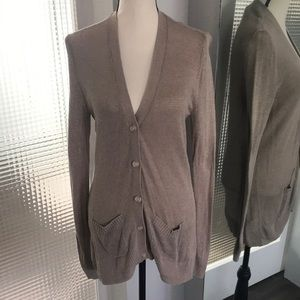 Old Navy Long Button Cardigan